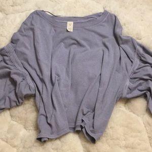 NWOT..Lavender oversized top